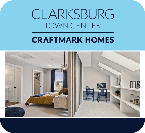 New 2-Car Garage Townhomes in Montgomery County, Clarksburg, MD