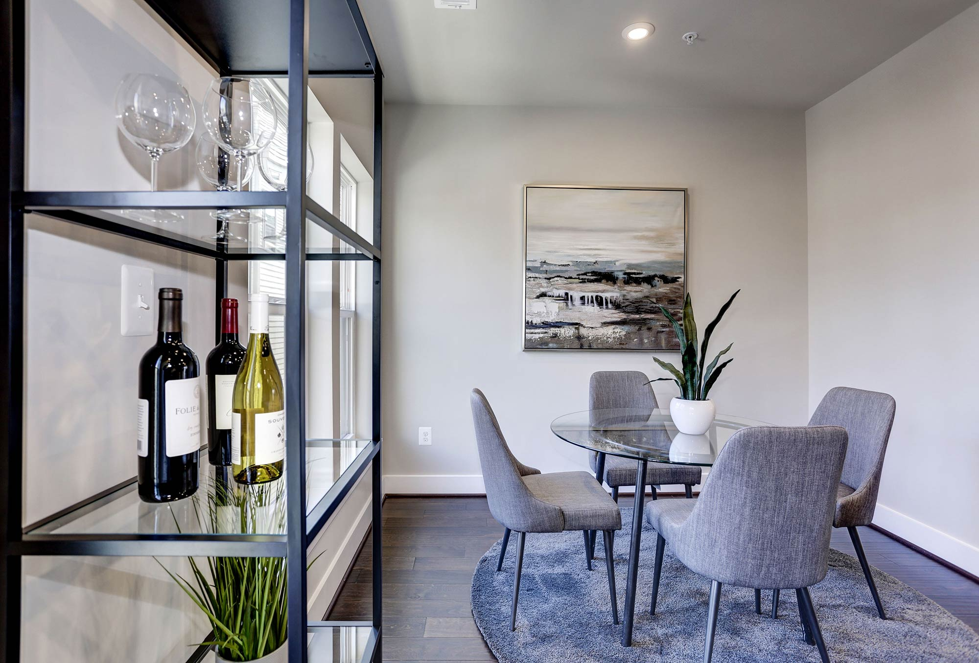 Dining Room, Urban Condos, Townhomes, NW DC