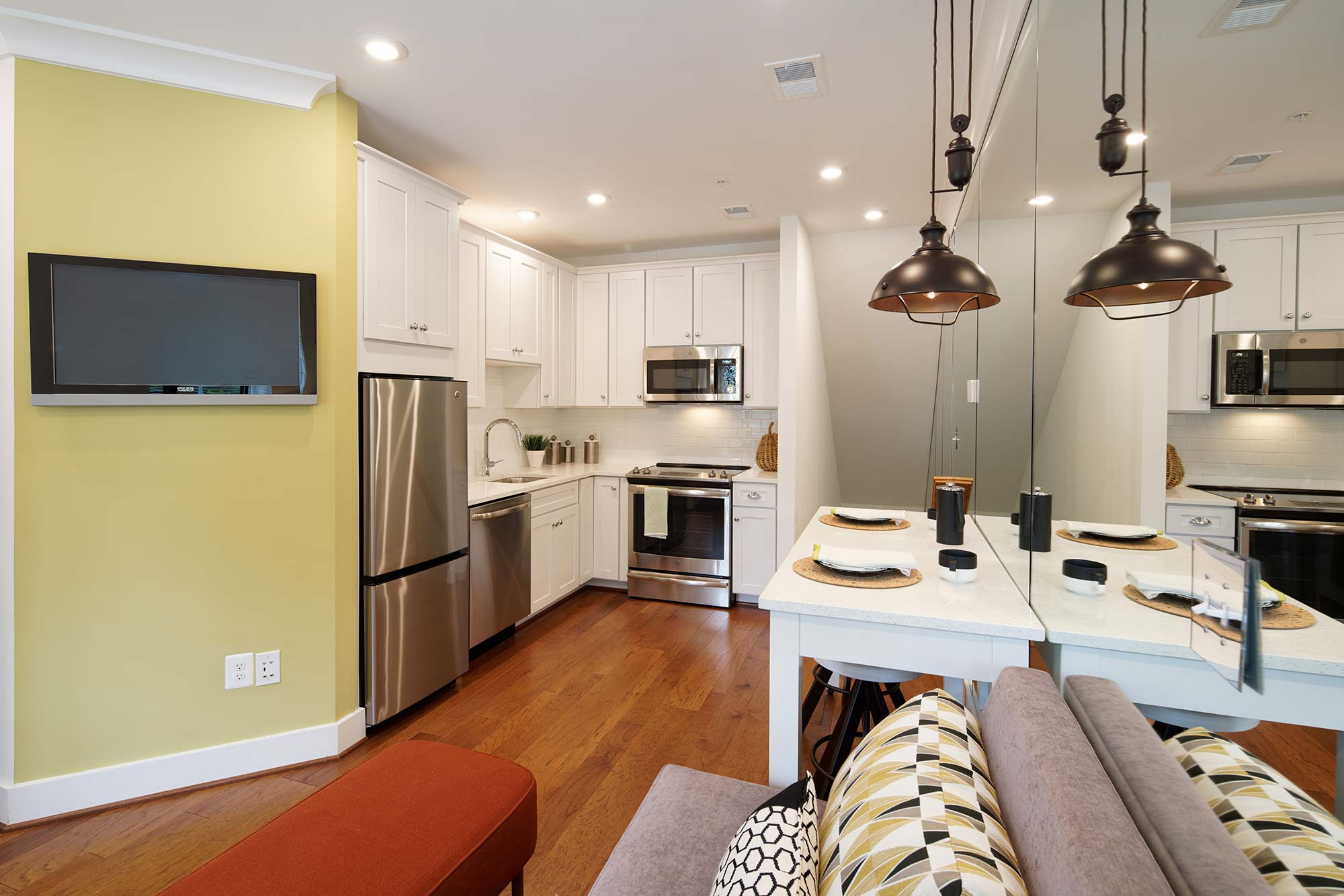 Kitchen, Urban Condos, Townhomes, NW DC