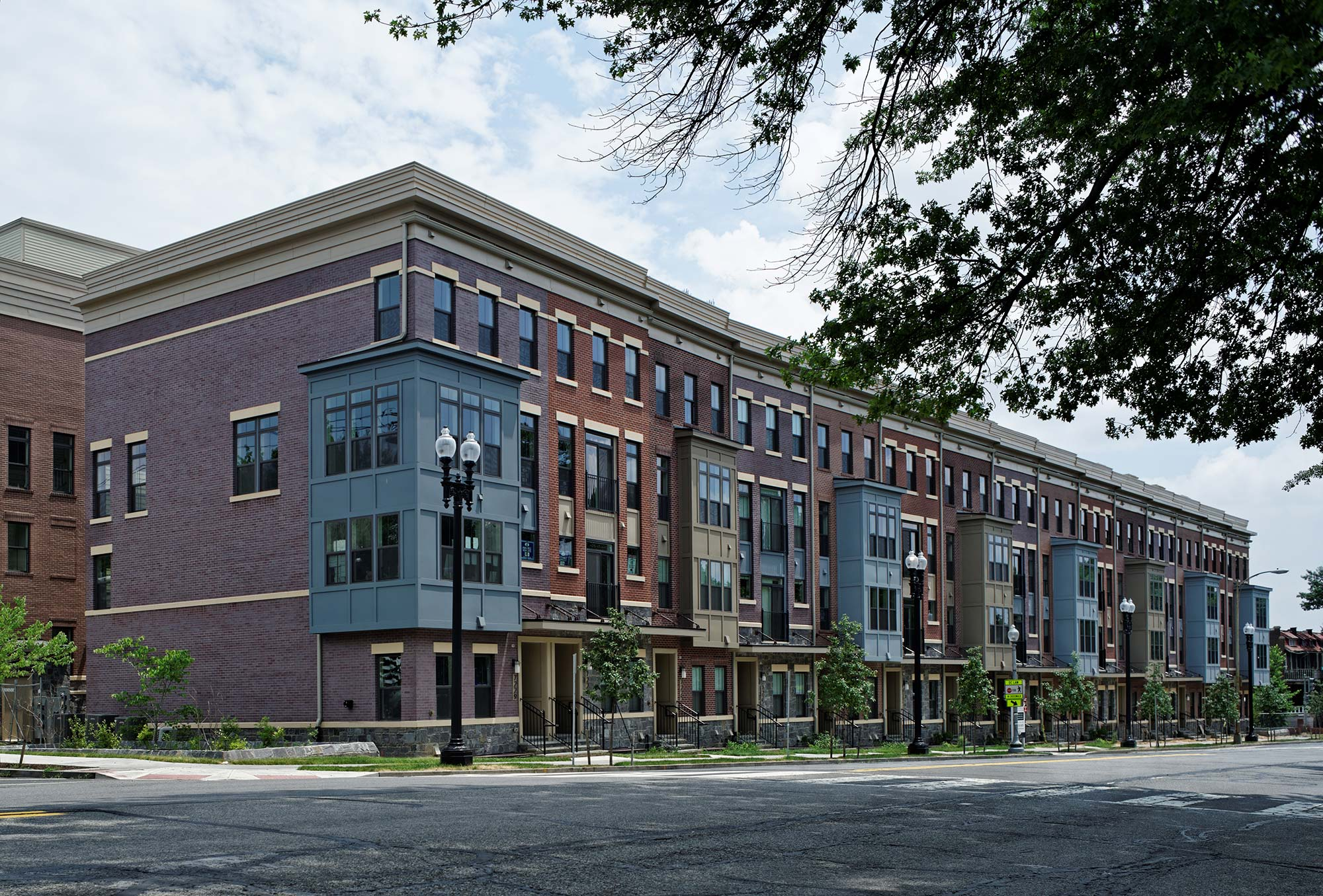 Exteriors, Urban Condos, Townhomes, NW DC