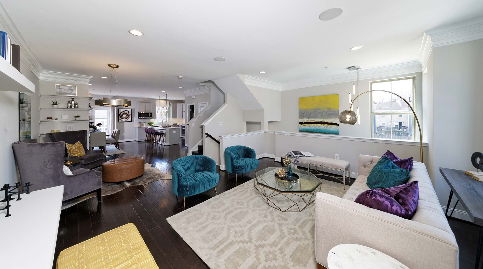 Living Room, Townhomes, Germantown MD