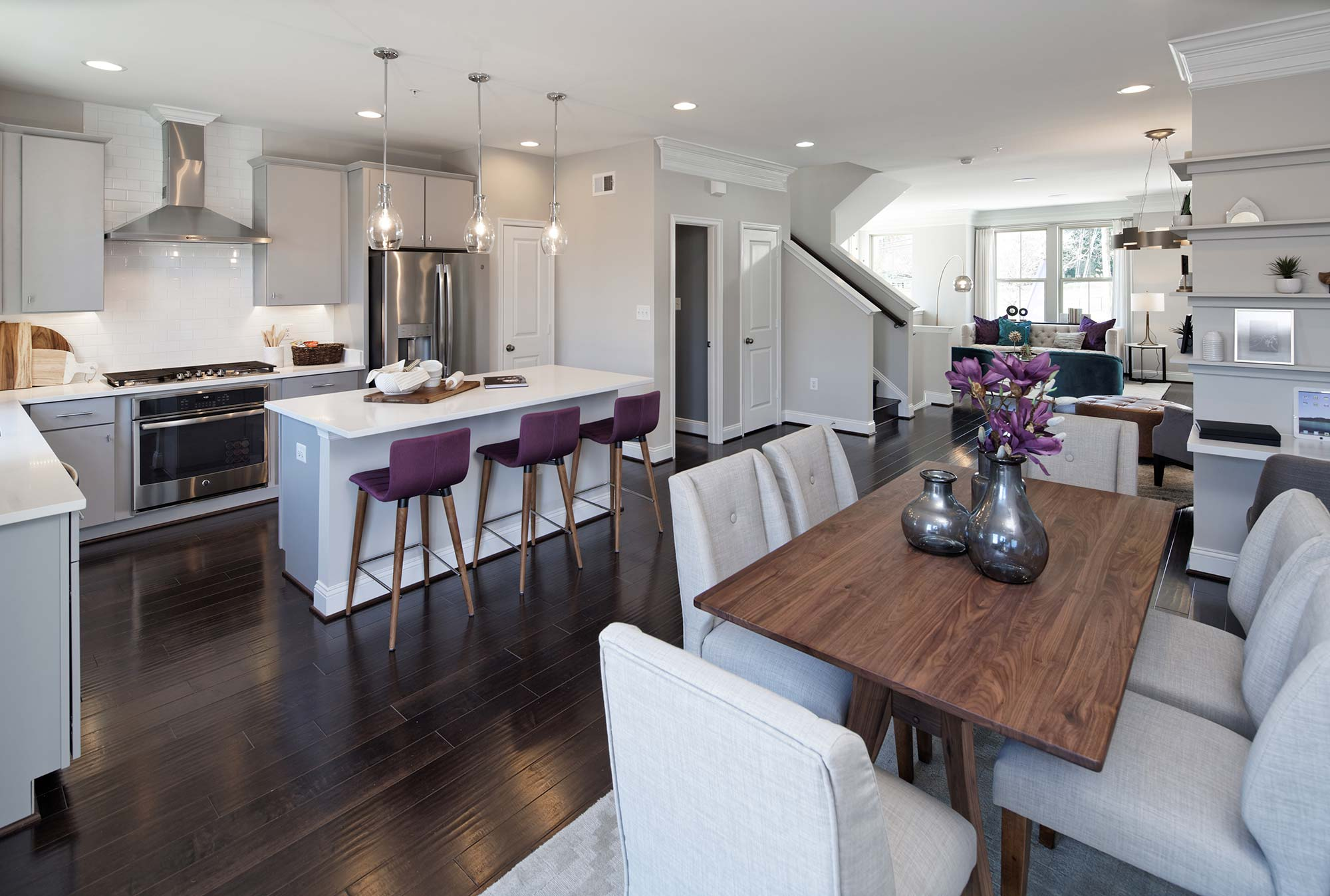 Kitchen & Dining Space, Townhomes, Germantown MD
