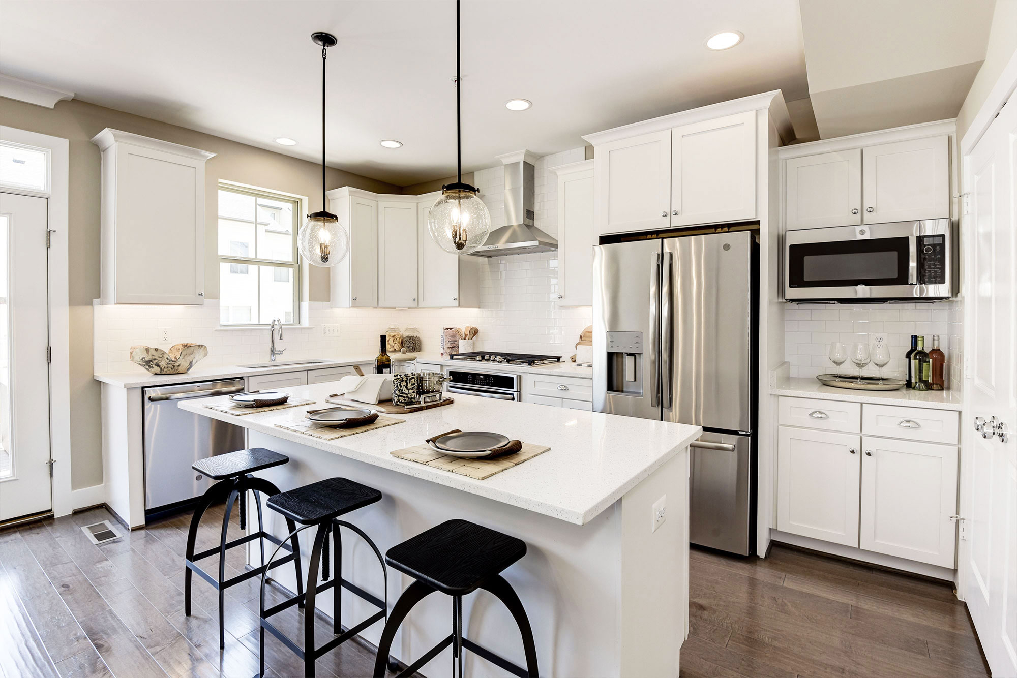 Open Kitchen, Townhomes, Germantown MD