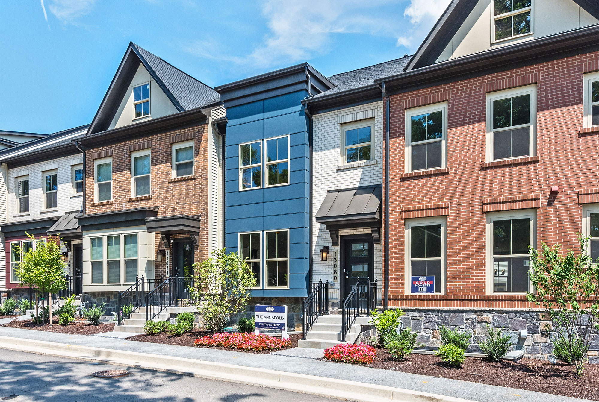 Exteriors, Townhomes, Germantown MD