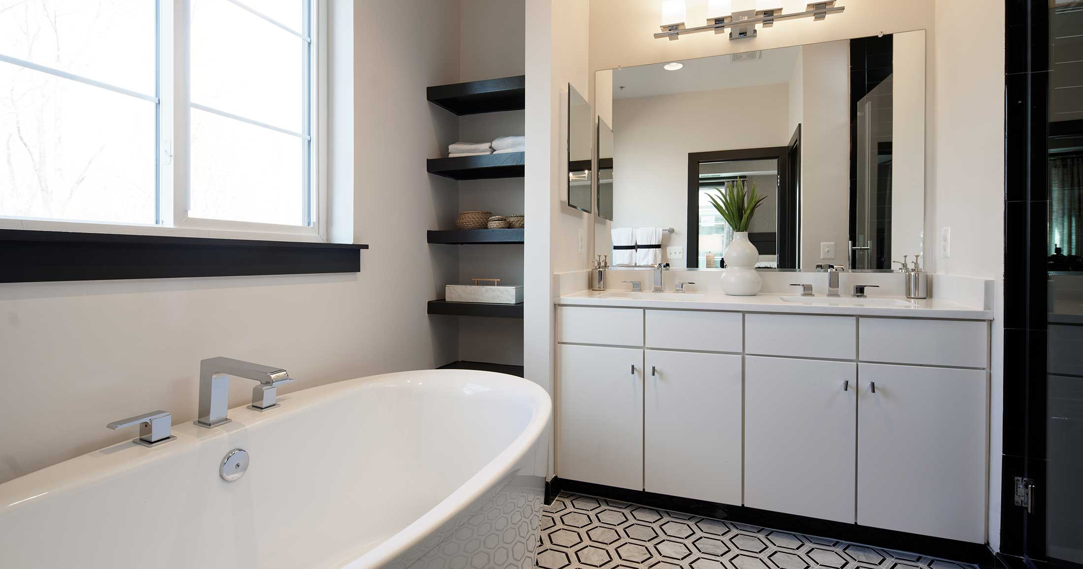 Bathroom, Townhomes in Chantilly VA