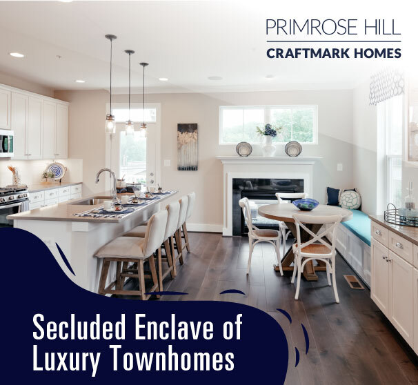 Luxury Townhomes in Annapolis, MD, Primrose Hill by Craftmark Homes