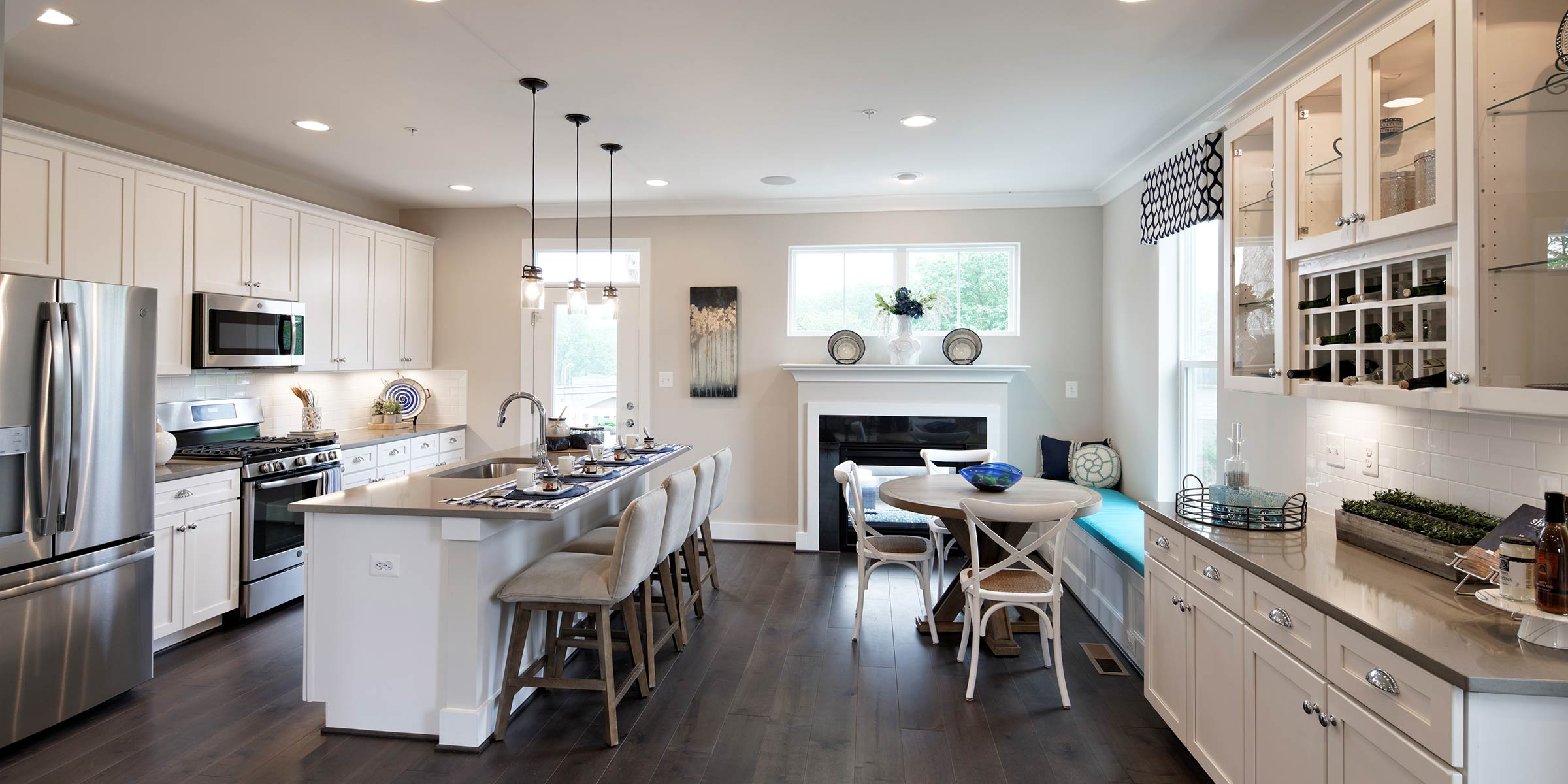 Kitchen & Dining Space, Townhomes in Annapolis MD