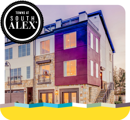 New 4-Level Townhomes in South Alexandria, VA