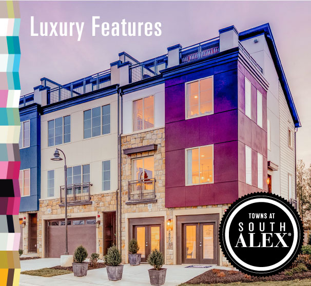 Urban Townhomes in Alexandria VA, Towns at South Alex by Craftmark Homes