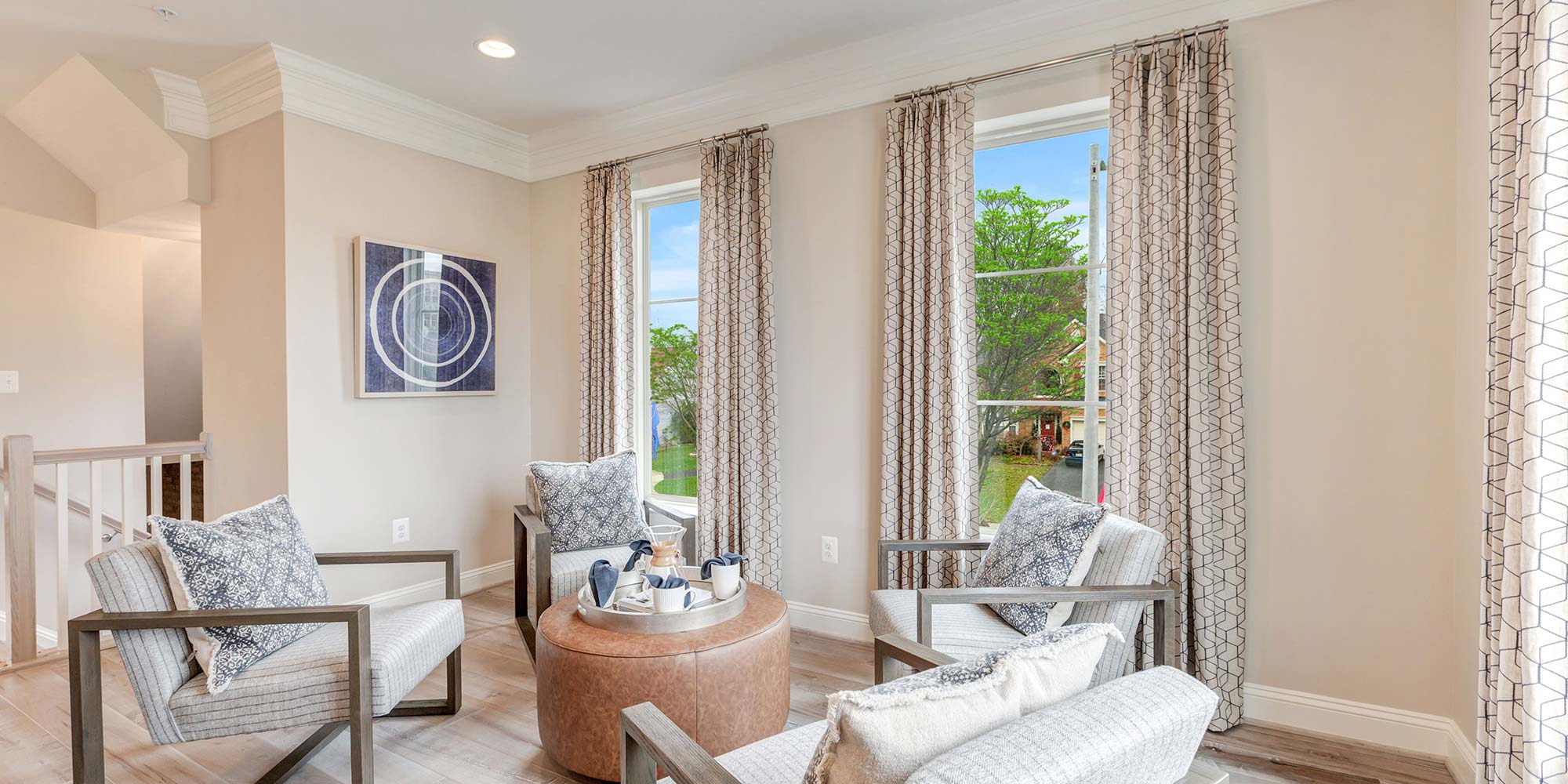 Living Space, Urban Townhomes in Alexandria VA