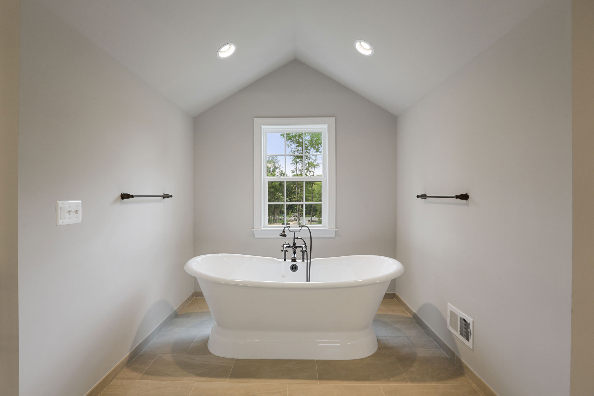 Bathroom, Finished Custom Home, Kenwood II, Haymarket, Craftmark Homes
