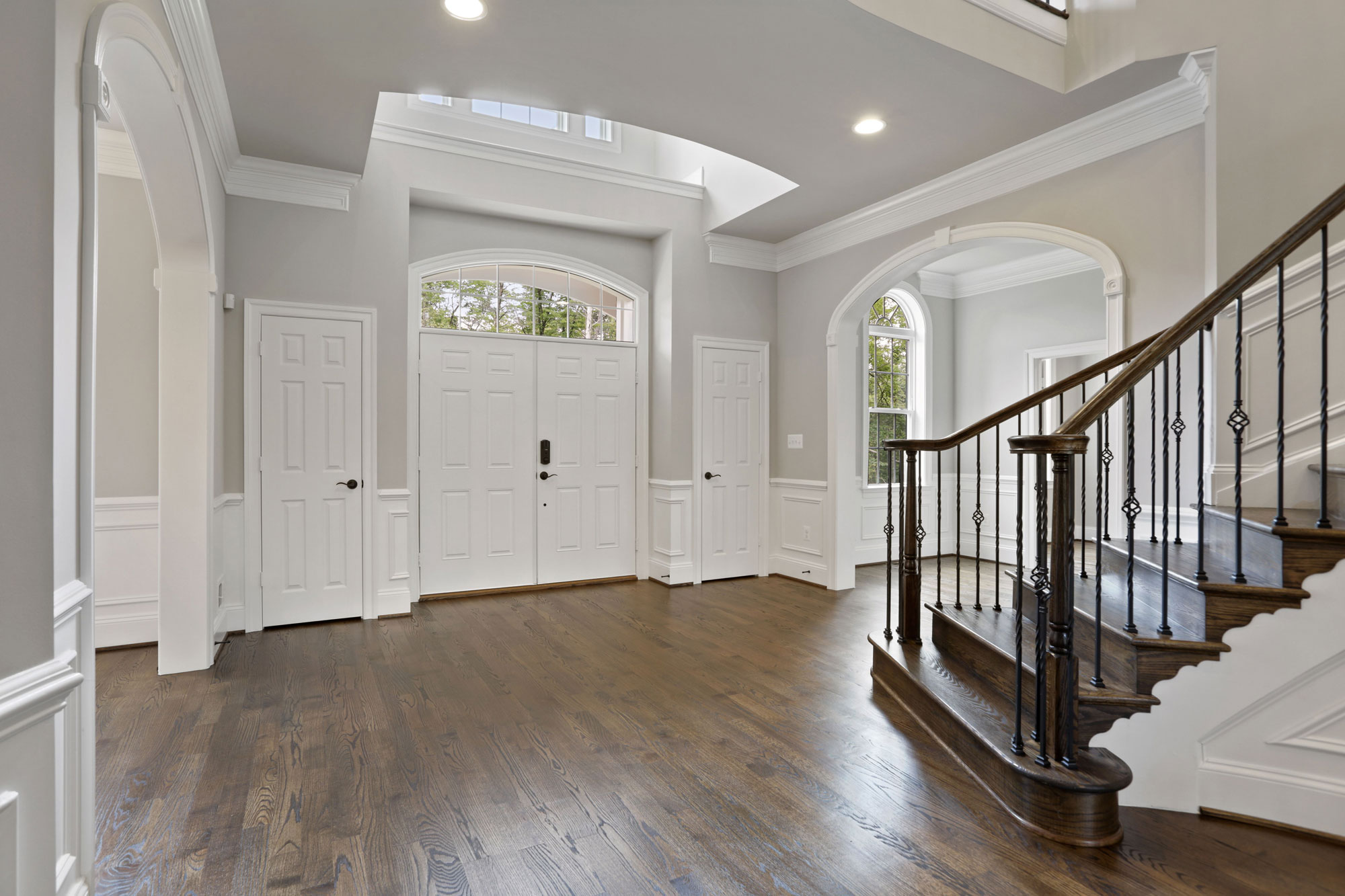 Interior, Finished Custom Home, Kenwood II, Haymarket, Craftmark Homes