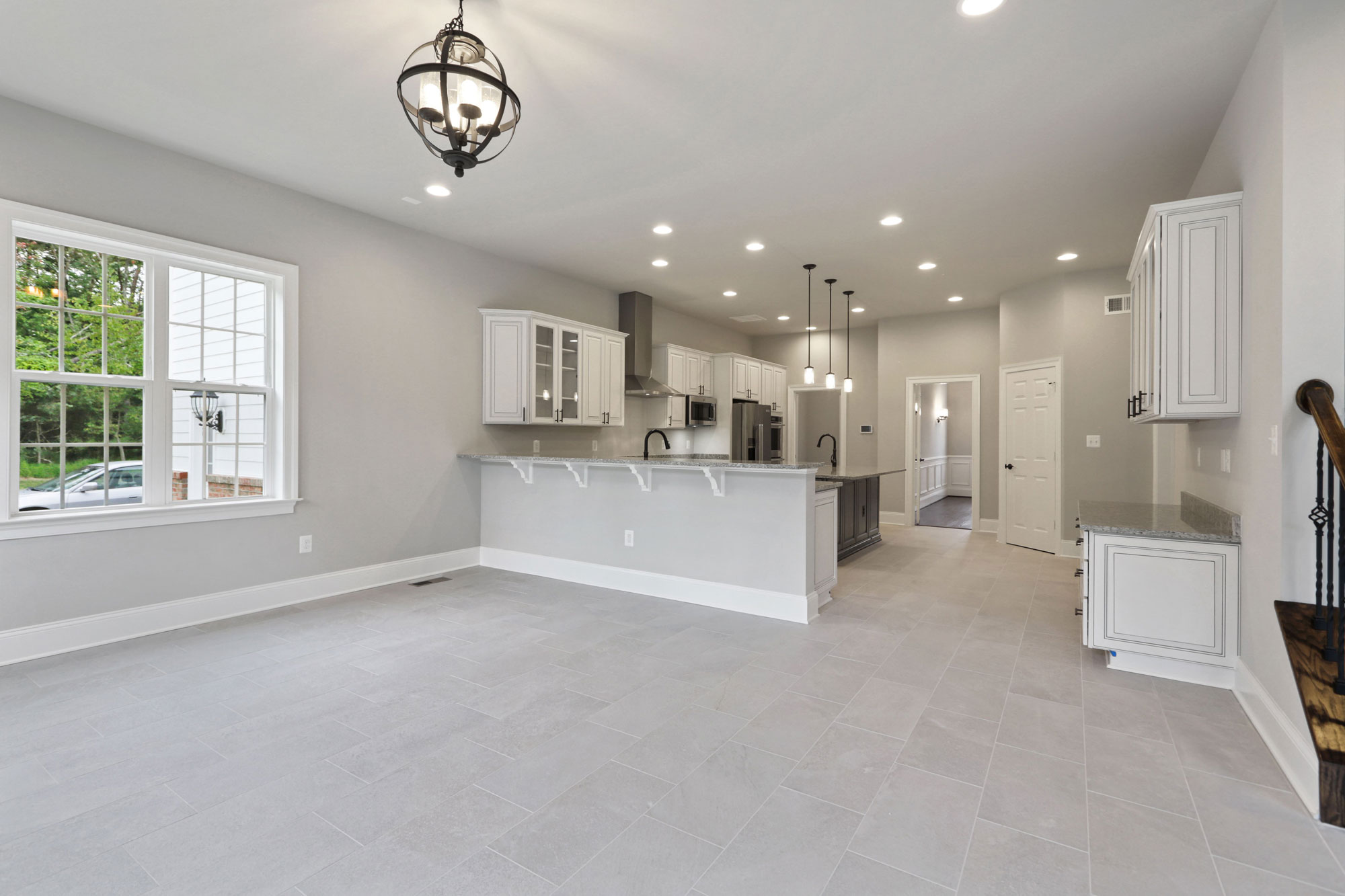 Kitchen, Finished Custom Home, Kenwood II, Haymarket, Craftmark Homes