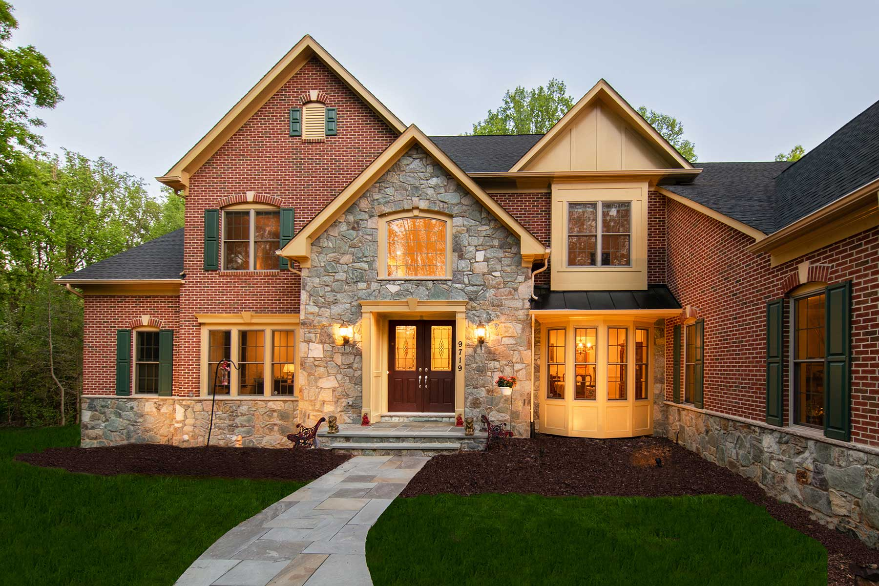 Exterior, Finished Custom Home, Misc, Craftmark Homes