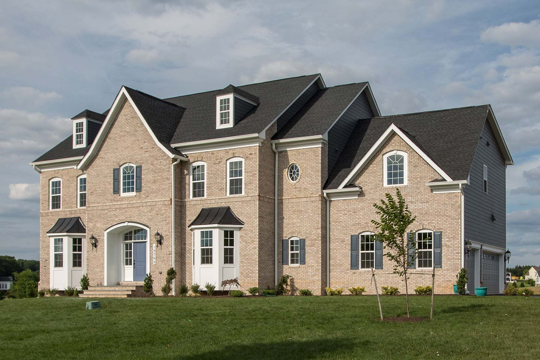 Exterior, Finished Custom Home, Kenwood, Black Rock, Craftmark Homes