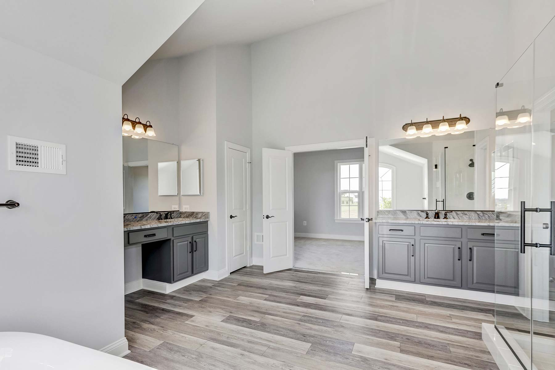 Bathroom, Finished Custom Home, Kenwood, Black Rock, Craftmark Homes