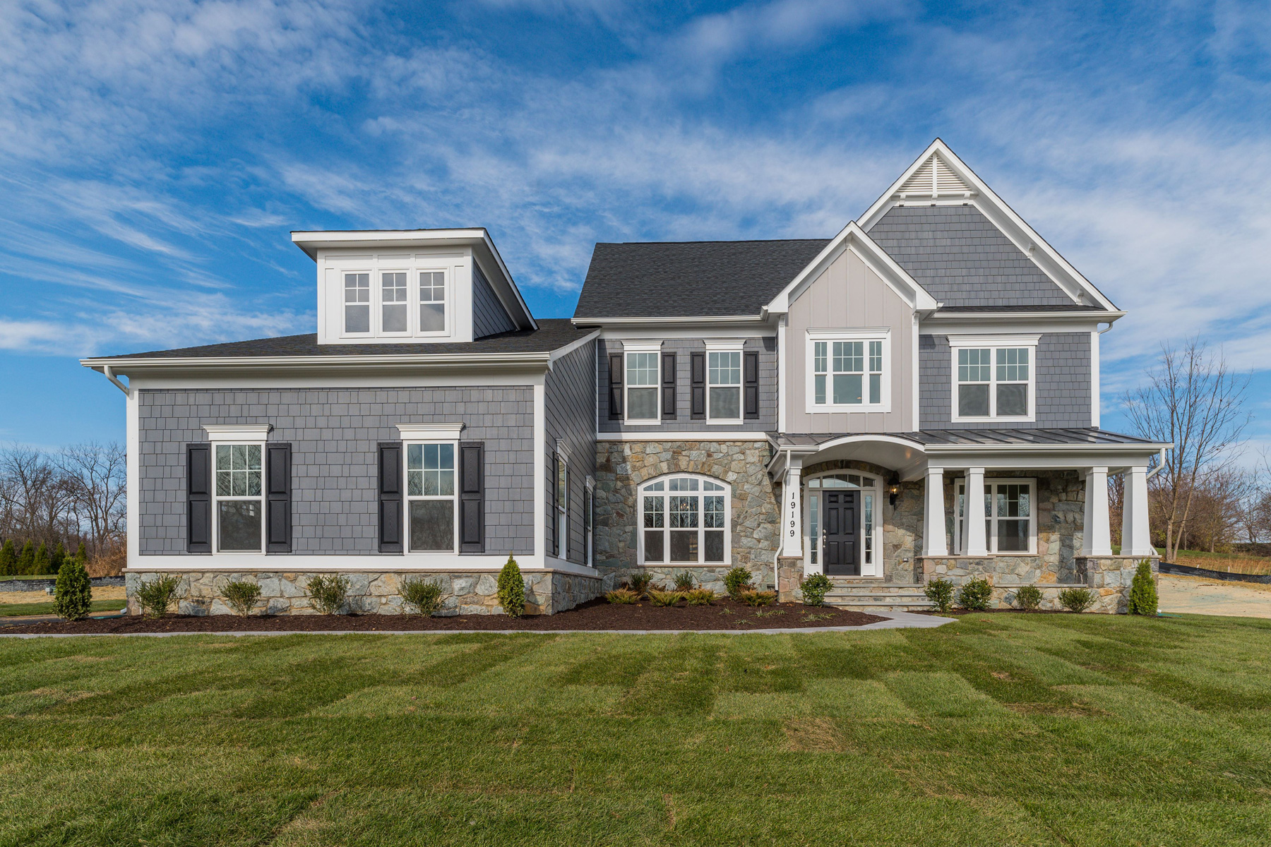 Exterior, Finished Custom Home, Edgemoor, Purcellville, Craftmark Homes