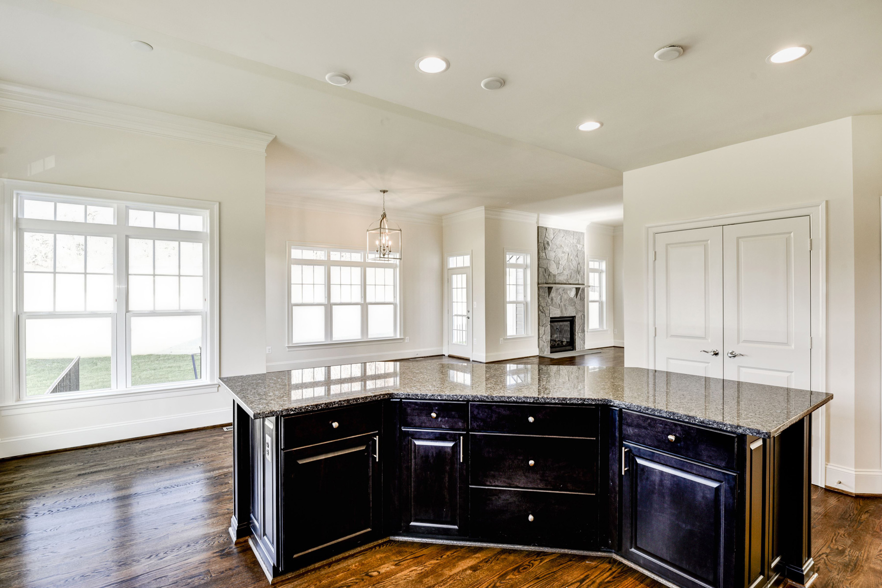 Finished Custom Home, Edgemoor, Purcellville, Craftmark Homes