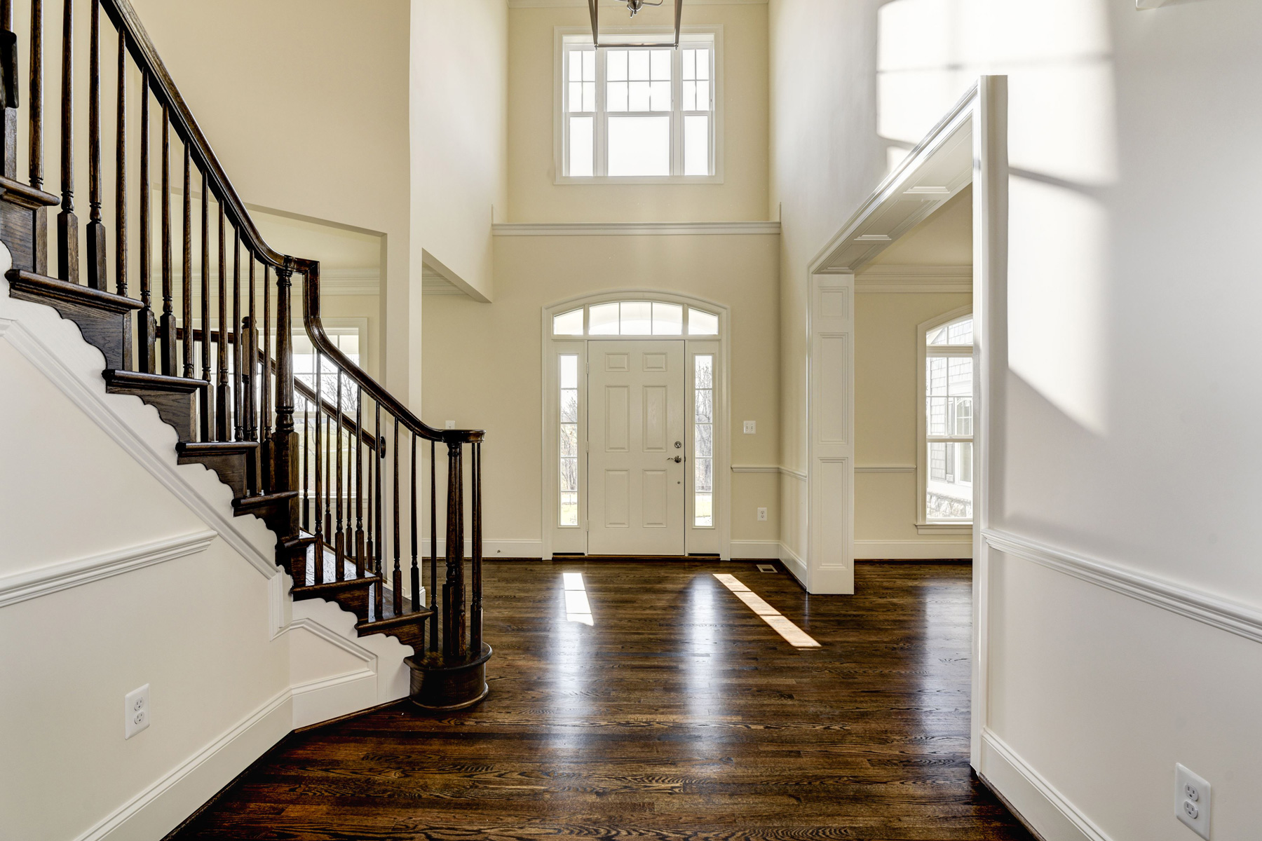 Interior, Finished Custom Home, Edgemoor, Purcellville, Craftmark Homes
