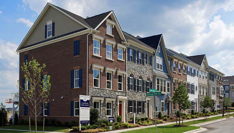 The Annapolis Floor Plan, Townhomes Available in Maryland