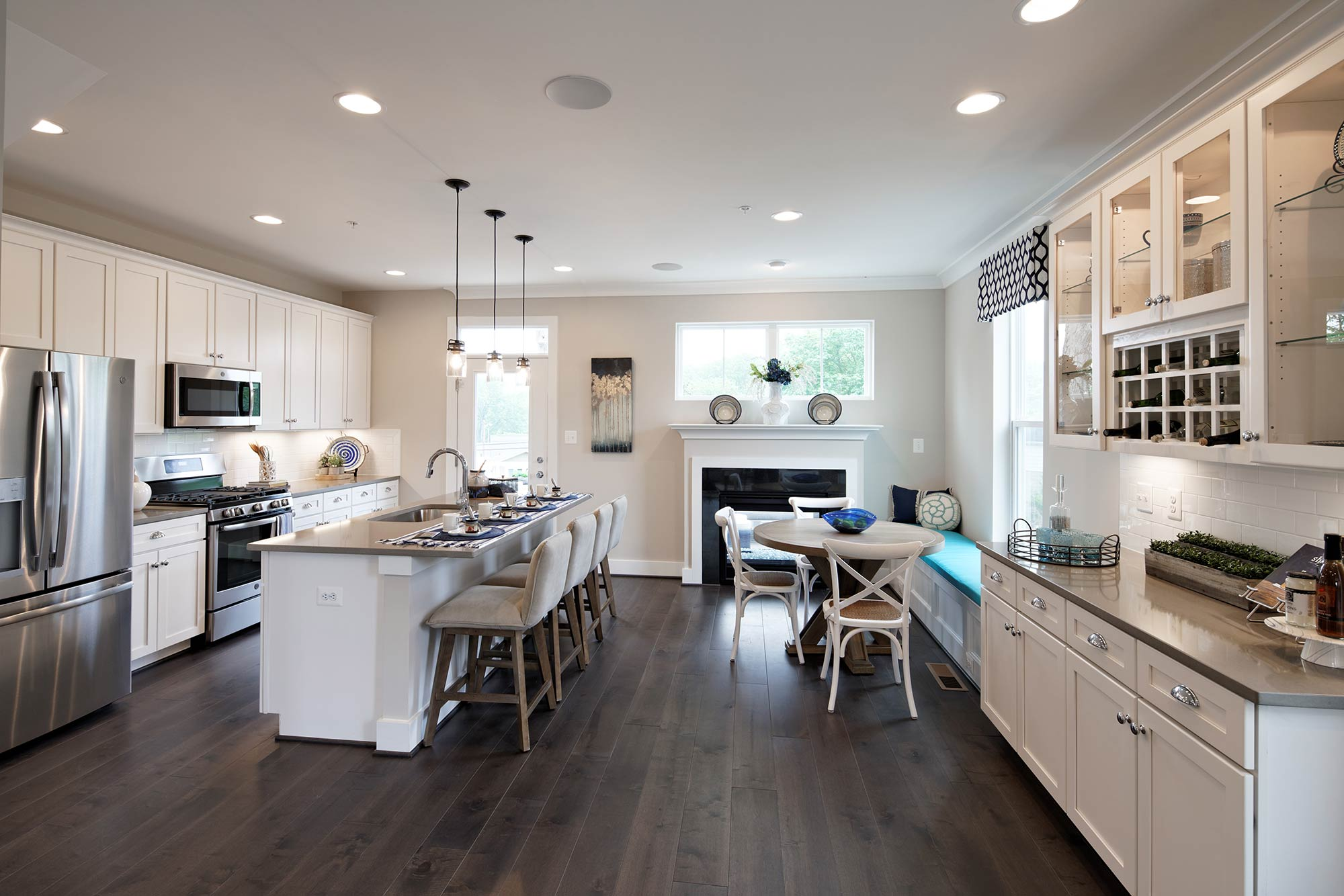 The Annapolis Floor Plan, Up to 4 Levels, 2-Car Garage, 3-4 BR, Townhomes in Annapolis MD, Craftmark Homes