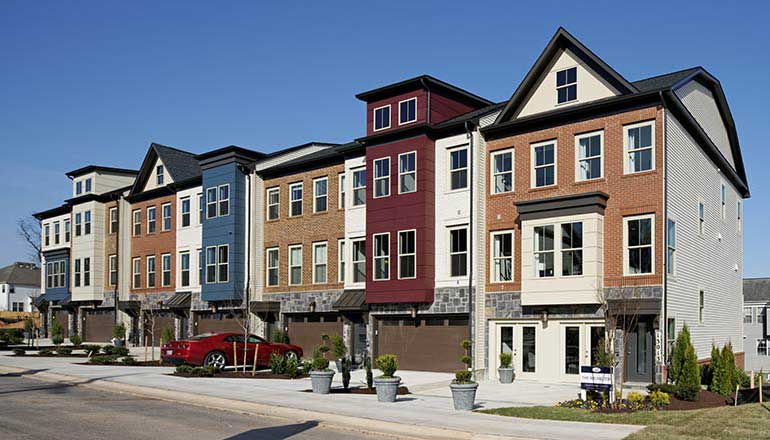 The Arlington Floor Plan, Luxury Garage Townhomes Available in Maryland
