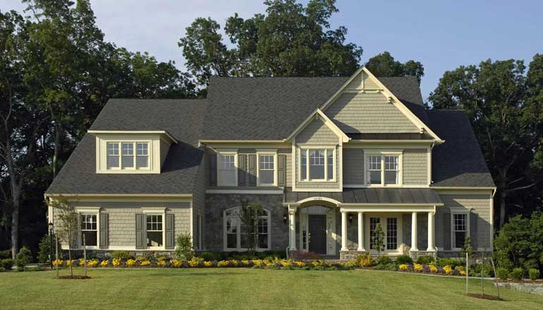 The Edgemoor Floor Plan, Custom Home Available in Montgomery County, MD