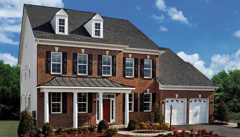 The Hamilton Floor Plan, Award-winning Design Home in MD & VA