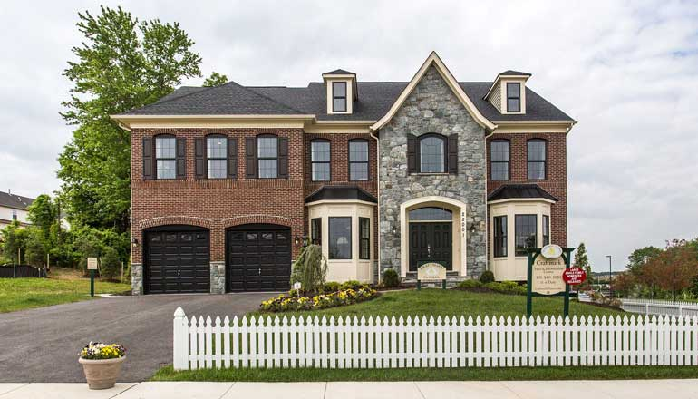 The Oakdale Floor Plan, Classic Style Single Family Home in MD & VA