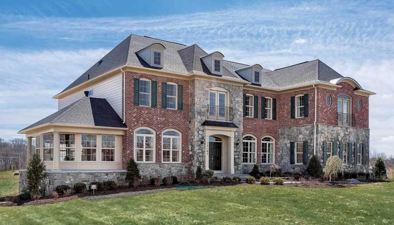 The Oakmont Floor Plan, Custom Home Available in Montgomery County, MD