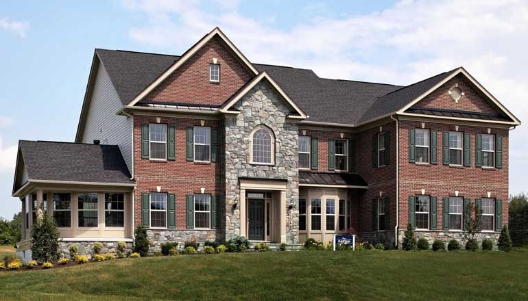 The Oakton Floor Plan, Custom Home Available in Montgomery County, MD