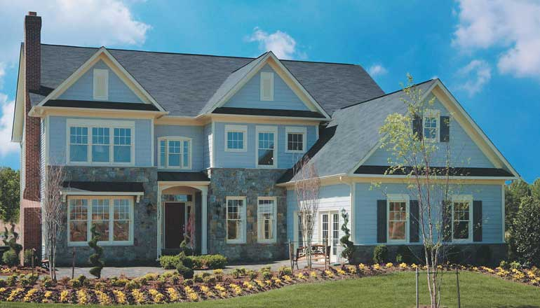 The Westchester Floor Plan, Custom Home Available in Montgomery County, MD