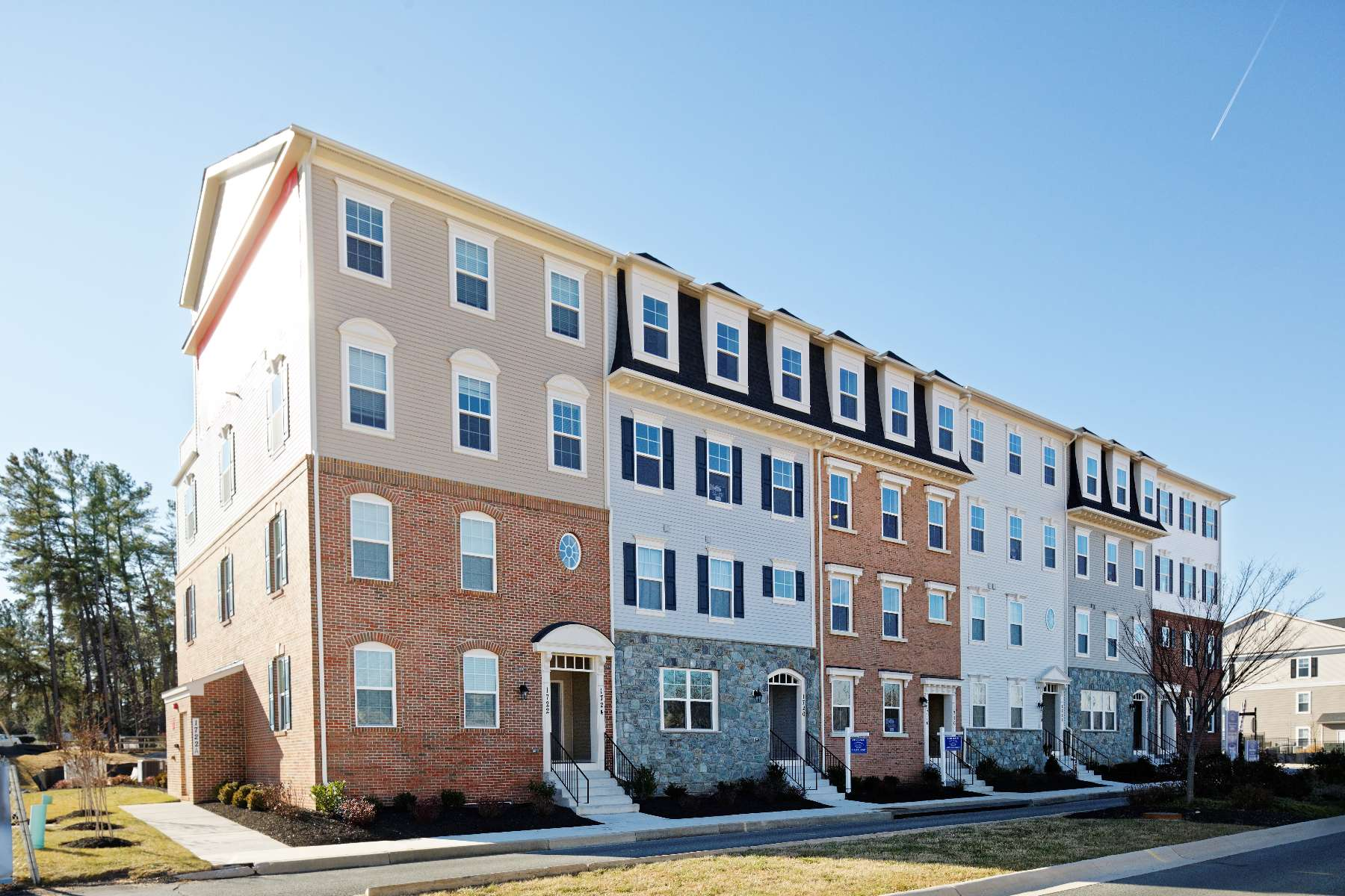 Exteriors Gallery, New Homes in Maryland, Virginia, Washington D.C.