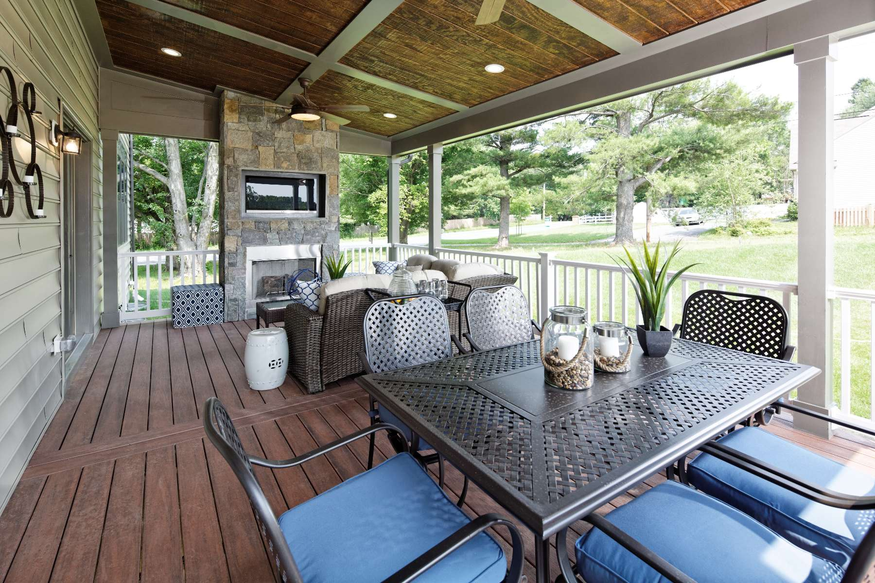 Outdoor Living Spaces Gallery, New Homes in Maryland, Virginia, Washington D.C.