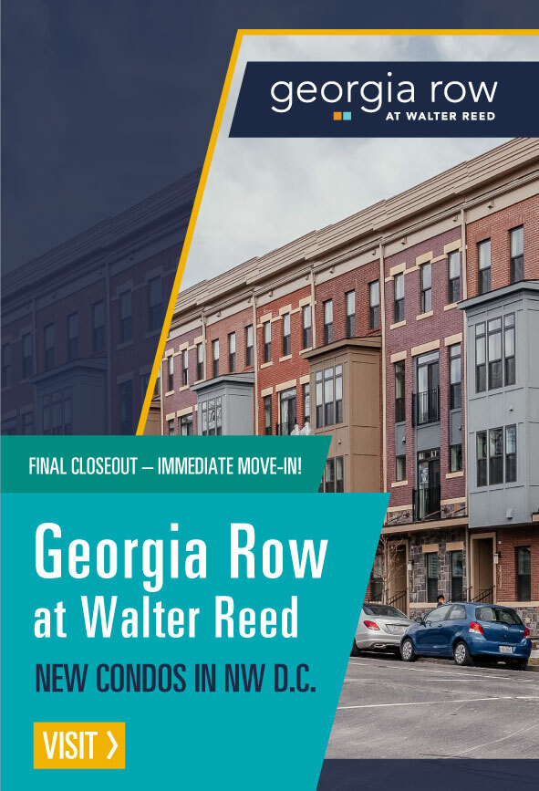 Condos in Northwest D.C., Georgia Row by Craftmark Homes